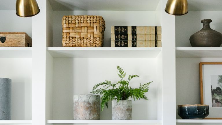 IKEA BILLY bookcase hack close details