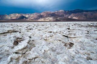 death valley, temperature records