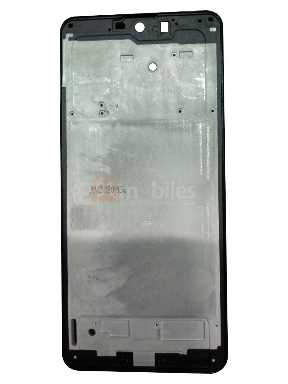 Samsung Galaxy M62 frame