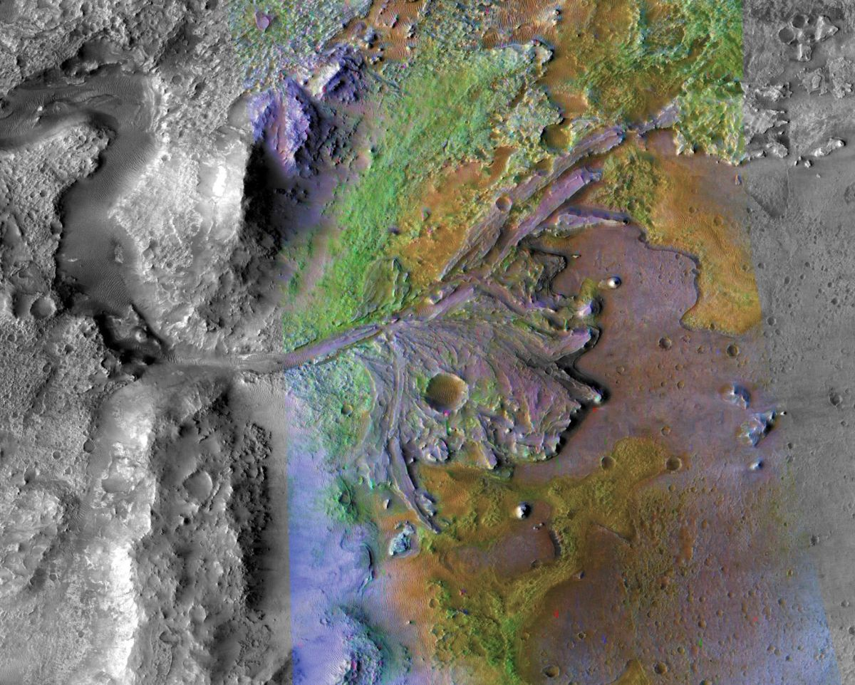 Wet, Frozen Conditions on Ancient Mars Could Have Supported Life