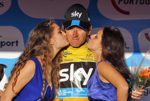 Geraint Thomas wins