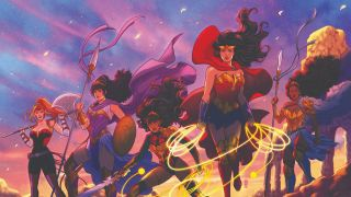 """The crossover event promises to """"redefine the future of DC's Amazons"""""""