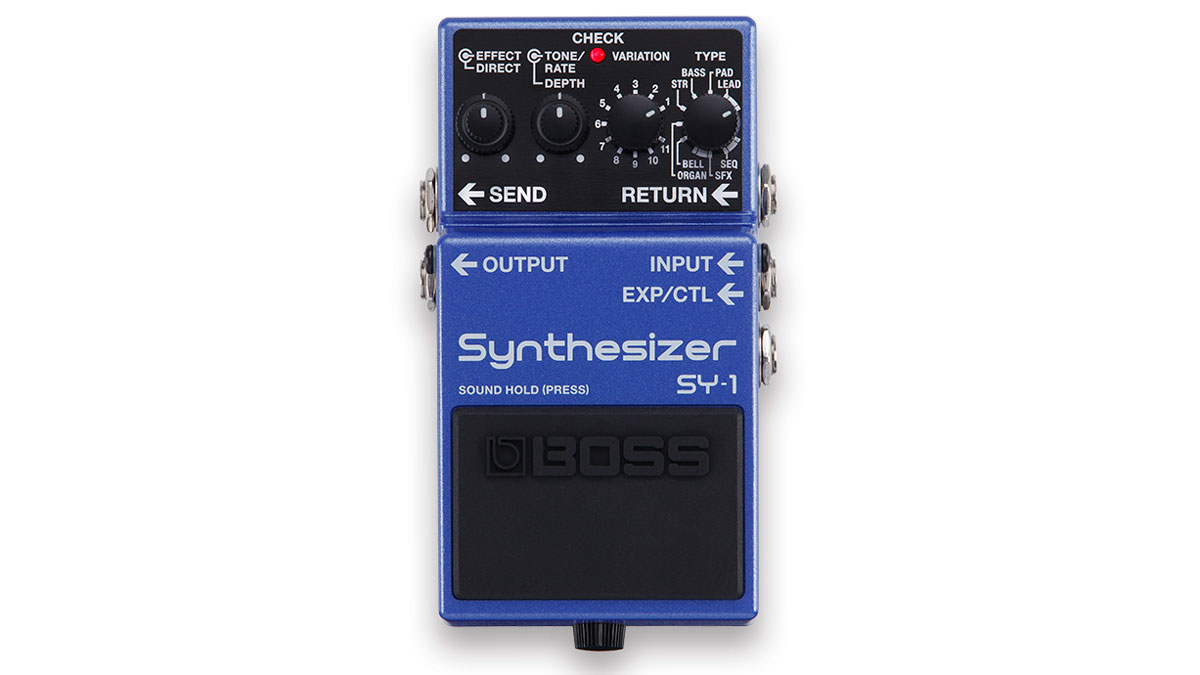 Summer NAMM 2019: Boss crams 121 synth sounds into the SY-1 Synthesizer pedal | MusicRadar