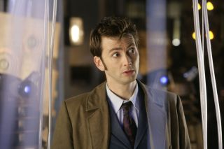 David Tennant as the 10th doctor.