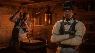 Red Dead Online roles - Moonshiner