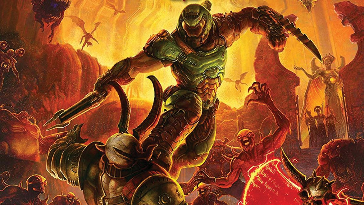 In Doom Eternal the Doom Slayer is faster, stronger, and more brutal than ever