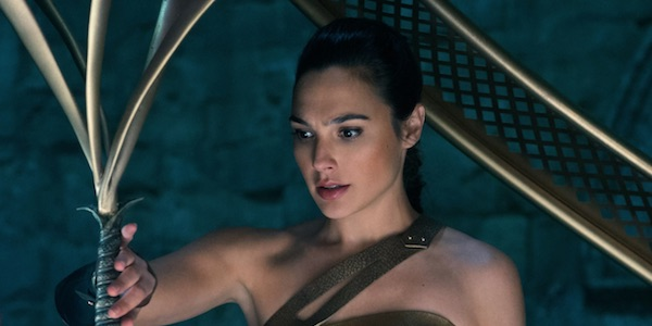 Wonder Woman grabbing the godkiller sword