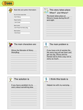Book report apps