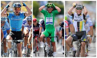 Mark Cavendish wins all three times in Châteauroux finish at Tour de France - 2008, 2011, 2021