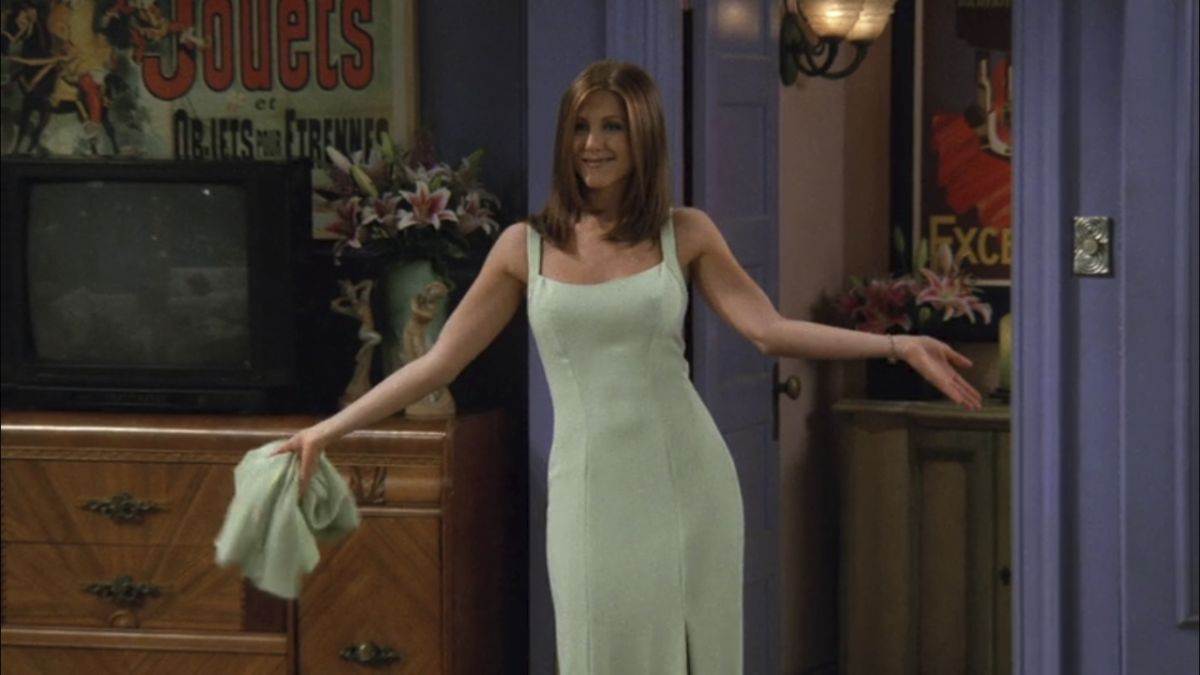 One of Rachel Green's most iconic dresses is now available to buy