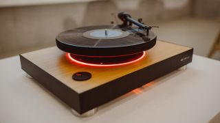 The First Levitating Turntable