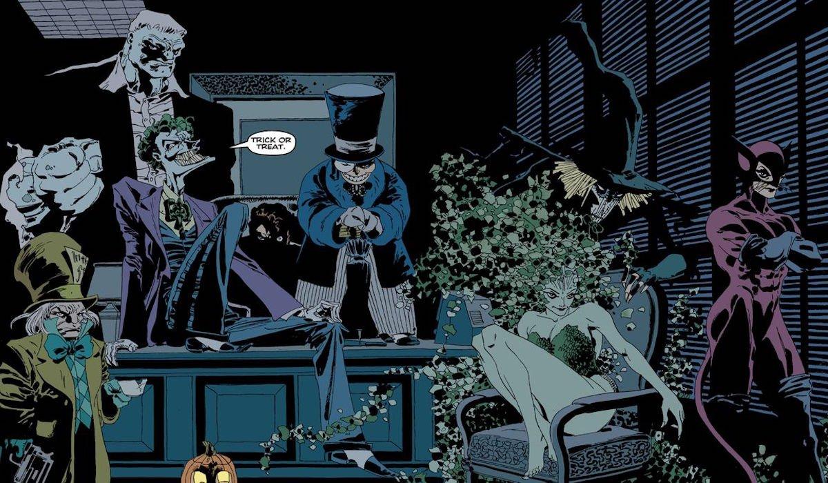 Batman: The Long Halloween villains