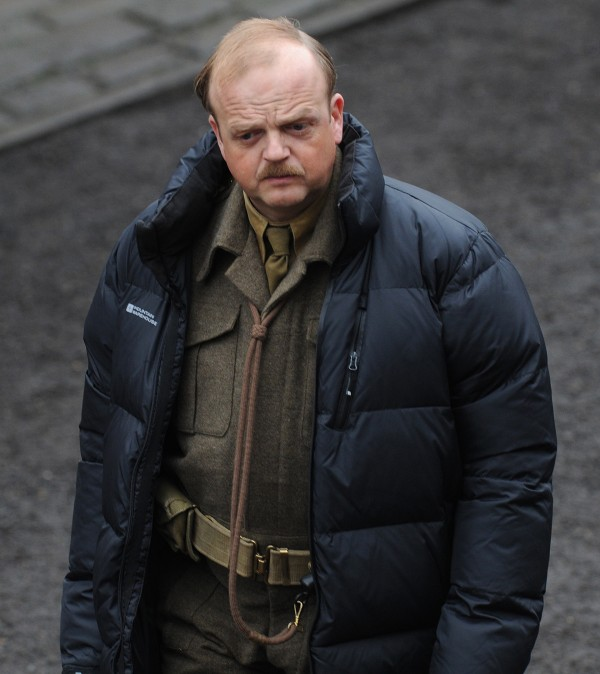 Toby Jones plays Captain Mainwaring in the Dad's Army film