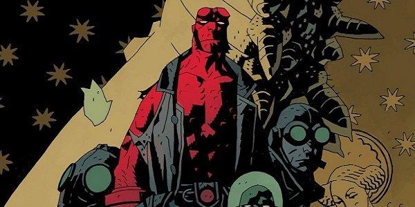 Comic art Hellboy