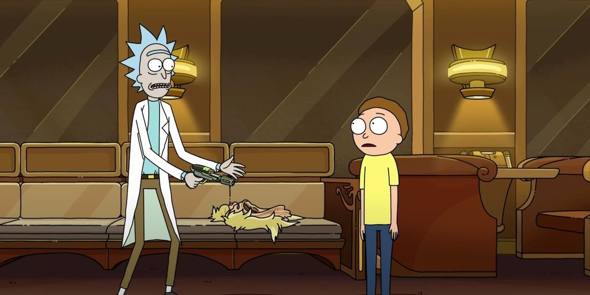 "Rick and Morty from ""Never Ricking Morty"""