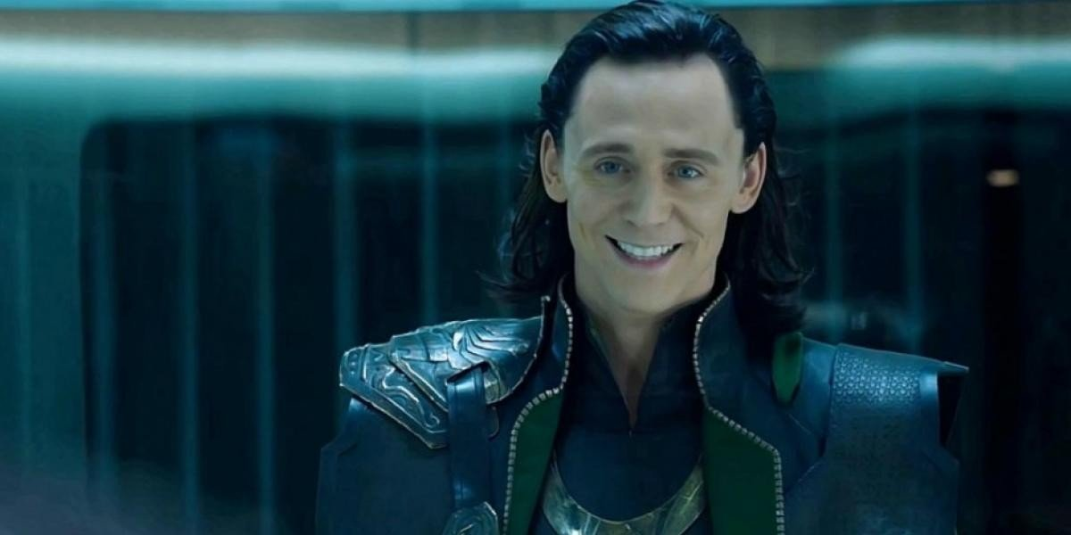 Tom Hiddleston as Loki in The Avengers (2012)