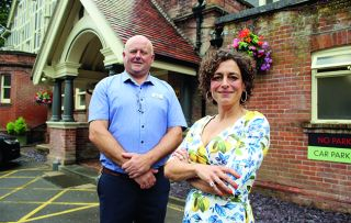Alex Polizzi is at Forest Park Hotel this week