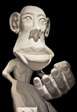 Homunculus statue