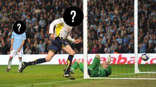 Man City 0-1 Tottenham, 2010