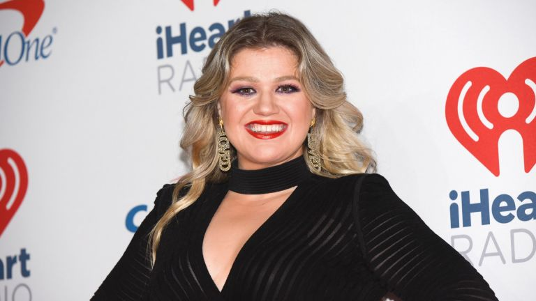 Kelly Clarkson attends the 2018 iHeartRadio Music Festival at T-Mobile Arena on September 22, 2018 in Las Vegas, Nevada