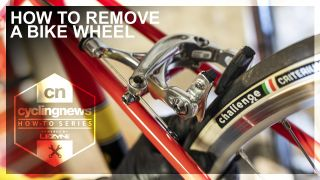 How to remove a bike wheel
