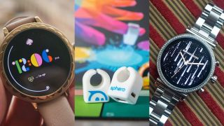 A selection of the wearable products announced at CES 2019. Image Credit: TechRadar, Sphero