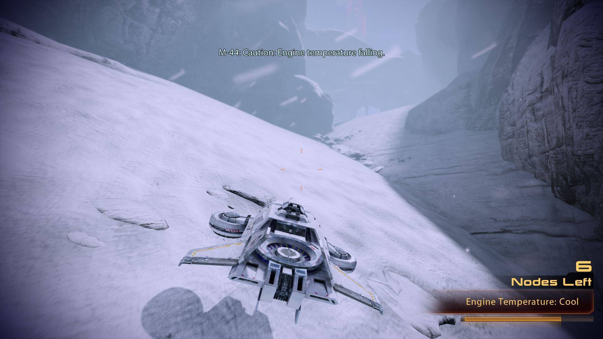 The Hammerhead from Mass Effect 2's Firewalker DLC