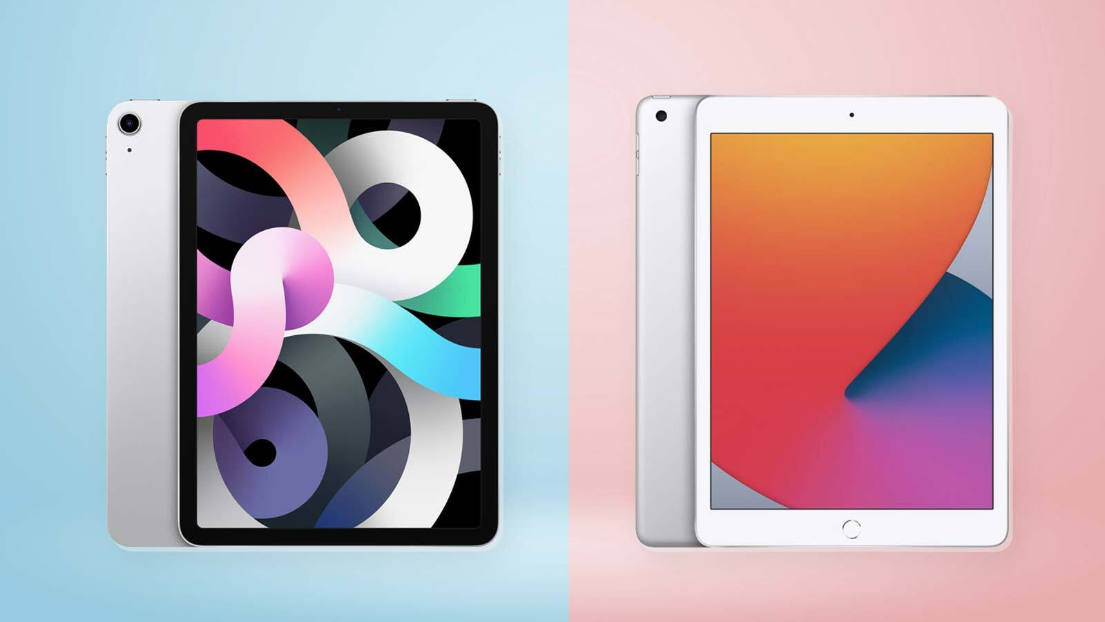 Ipad 8 Vs Ipad Air 4 How Apple S New Tablets Compare Tom S Guide