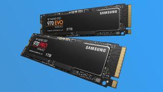 Samsung 970 Pro and 970 Evo