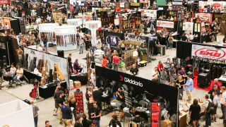 A general view of atmosphere during day three of Summer NAMM at Music City Convention Center on July 11, 2015 in Nashville, Tennessee