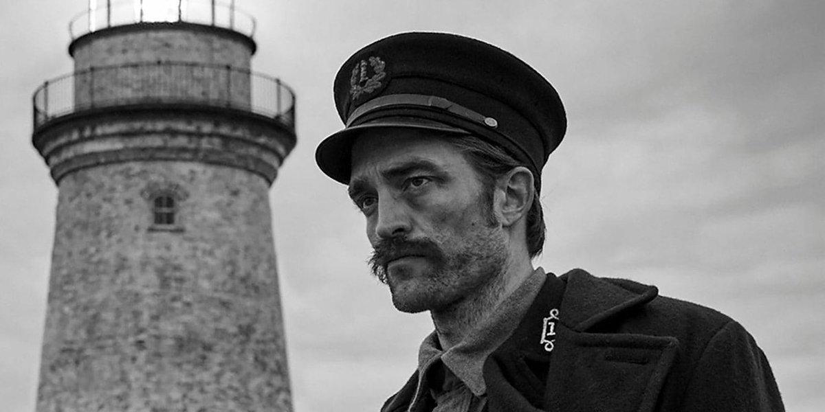Robert Pattinson in 'The Lighthouse'