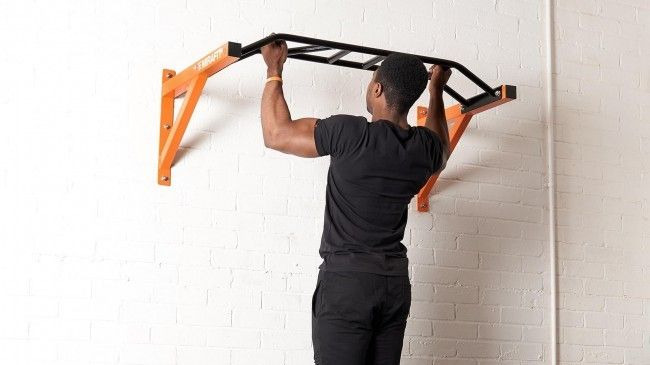 Mirafit M2 multi-grip wall mounted pull up bar