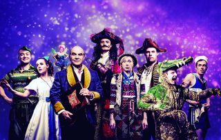 The hit comedy play makes its accident-prone way to the screen… When Peter Pan Goes Wrong