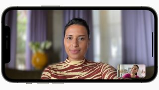 how to use portrait mode in facetime in iOS 15