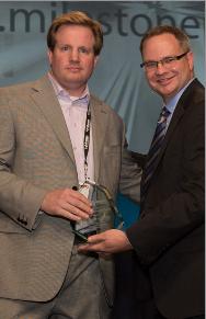 Milestone Earns 2013 Sustainable AV Award