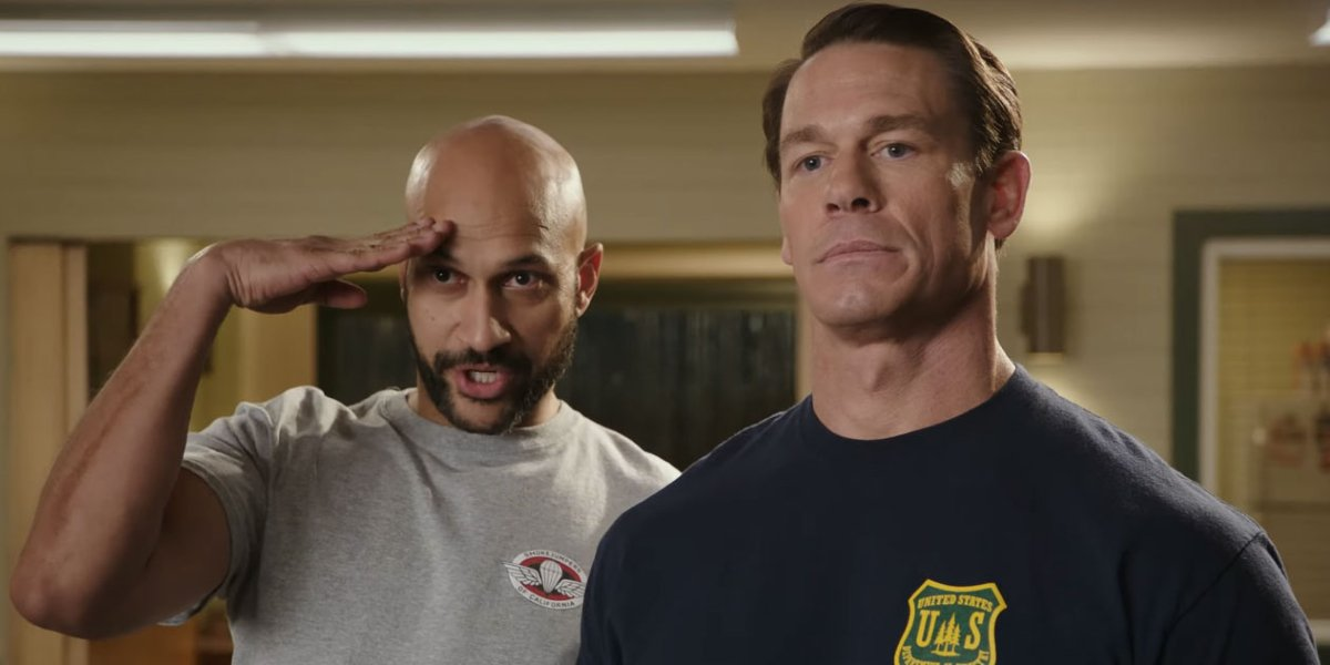 Keegan-Michael Key and John Cena in Playing with Fire