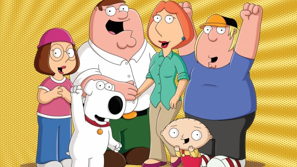 Popular animation series Family Guy