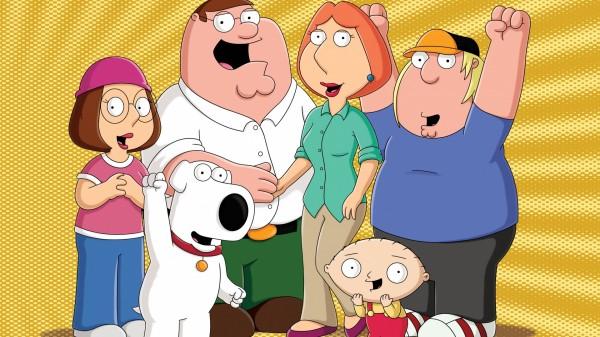 Popular animation series Family Guy