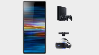 Get a free PS4 bundle or PSVR with this great Xperia 10 mobile deal