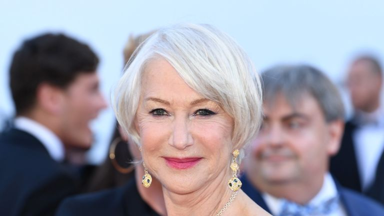 "CANNES, FRANCE - MAY 12: Actress Helen Mirren attends the screening of ""Girls Of The Sun (Les Filles Du Soleil)"" during the 71st annual Cannes Film Festival at Palais des Festivals on May 12, 2018 in Cannes, France. (Photo by Pascal Le Segretain/Getty Images)"