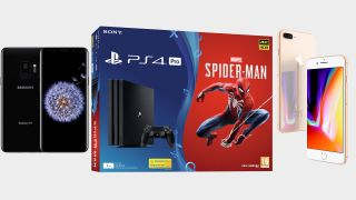 Get a free PS4 Pro bundle with this terrific Samsung S9 Plus or iPhone 8 UK deal