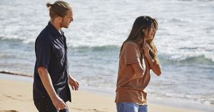 Ash tries to talk to Kat Chapman, but she has a panic attack in Home and Away