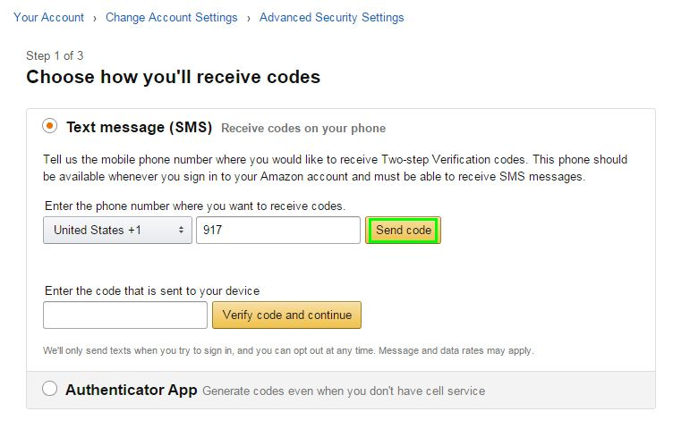 How to Set Up Two-Factor Authentication on Amazon | Tom's Guide