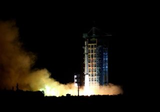 China launched the first-ever quantum-communication satellite, known as QUESS, atop a Long March-2D rocket from the Jiuquan Satellite Launch Center on Aug. 15, 2016 (Aug. 15 local time).