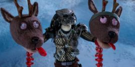 The Predator Meets Rudolph In Violent NSFW Short