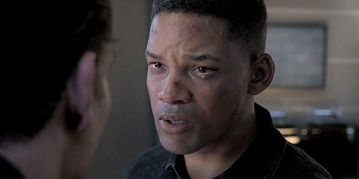 Gemini Man Will Smith tears