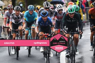 GC contenders Roccaraso Giro 2020 stage 9