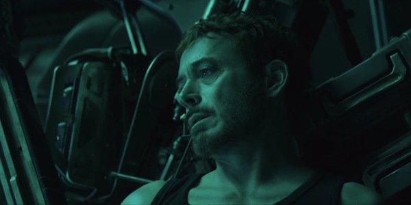 Iron Man tired Avengers Endgame