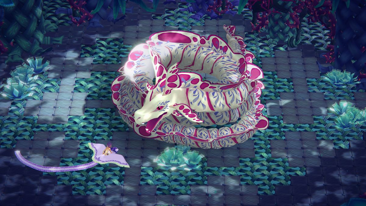 Weaving Tides is a gorgeous knitted adventure with a free demo