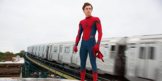 Tom Holland as in Spider-Man: Homecoming
